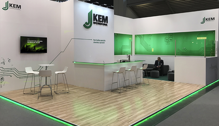 J-Kem booth nominated for leading design award